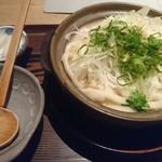 葱や平吉 - 土鍋煮込みうどん塩
