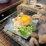 鶏ネバーランド  - 生つくね in ホイル