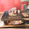 ブロンコビリー - 料理写真:「極み 炭焼きブロンコハンバーグランチ」