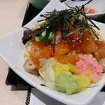 江戸前 びっくり寿司 - 雪御膳のちらし