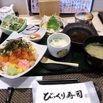 江戸前 びっくり寿司 - 雪御膳